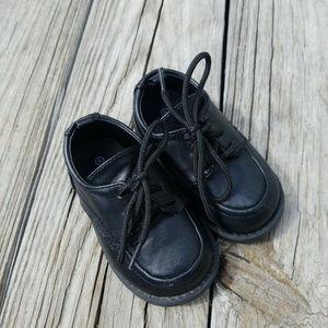 Koala Kids Toddler Boys Black Shoes Sz 5